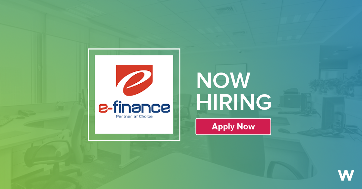 Job: E-Payment Services Specialist at e-finance in Giza, Egypt